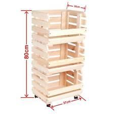 Rollbare Regale Aufbewahrungsmoglichkeiten Aus Holz Fur Die Kuche