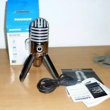 Samson Meteor USB Condenser Studio Microphone - Faulty