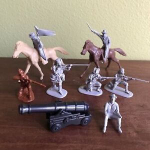 10 Piece, French & Indian War You Soldiers, Colonial, Revolutionary War, Cannon