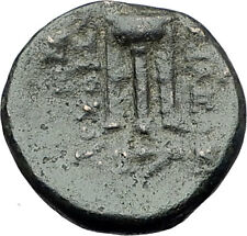 ANTIOCHOS II THEOS 261BC Ancient SELEUKID Greek Coin APOLLO TRIPOD ANCHOR i62275