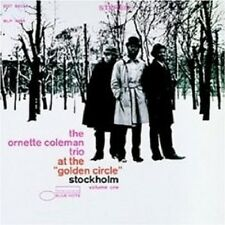 "ORNETTE COLEMAN ""AT THE GOLDEN CIRCLE VOL. 1"" CD NEU"