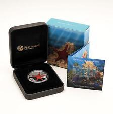 2011 'Starfish' Perth Mint Legal Tender 1/2oz Coin - .999 Fine Silver