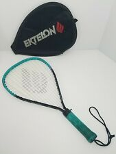 "Ektelon Dynax Racquetball racquet Aqua Blue and Black Sz X-Small 4"" grip Cover"