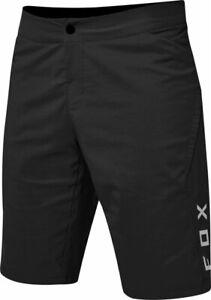 Fox Ranger Short SP21 Black - Padded Liner - Mountain Bike MTB Shorts