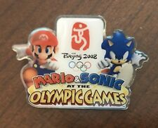 """2008 BEIJING Olympics Collector Pin """"Mario & Sonic At the Olympic Games"""""""