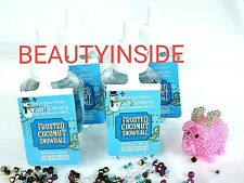 (4) Bath and Body Works FROSTED COCONUT SNOWBALL Wallflowers Fragrance Refill