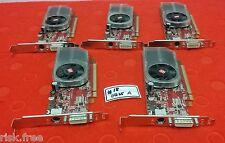 LOT OF 5 ATI Radeon Video Graphics Card A92403 AS# 431834-001 256M DMS-59