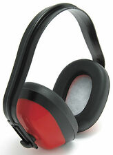 10 x Blackrock Red Classic Ear Defenders Safety Muffs SNR 27db (7210100)