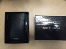 Giorgio Armani - Black Label - leather phone case