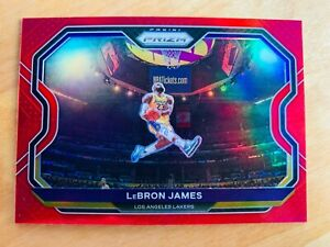 2020-2021 NBA Prizm - Lebron James Red Prizm /299 Kobe Dunk Tribute HOT!