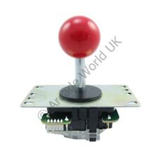Genuine Japanese Sanwa JLF-TP-8YT Ball Top Arcade Joystick - Red