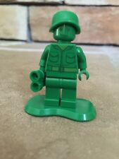 Lego Mini Figure Toy Story Green Army Man With Binoculars