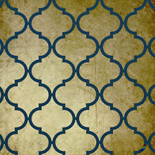 Moroccan #1 Stencil :  For Walls, Furniture and Art:  ST22A4