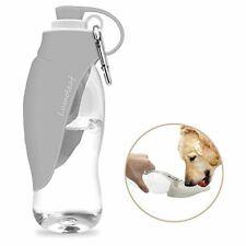 Portable Pet Water Bottle by LumoLeaf, Reversible & Lightweight Water Dispenser
