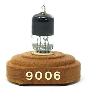 Ken-Rad 9006 UHF Diode Vacuum Tube on Display Block - Tested
