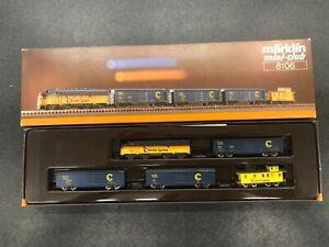 Marklin Z Scale 8106 Chessie System Freight Train Set  Original Box