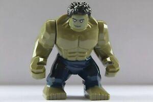 New Large Hulk MiniFigure Avengers End Game UK Seller