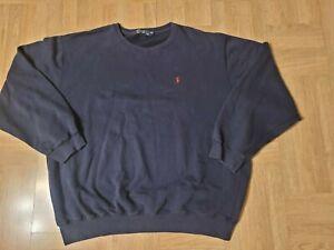 Vintage Polo Ralph Lauren Fleece lined crew neck Sweatshirt Men's sz XXL~L@@K!