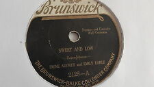 Irene Audrey - 78rpm single 10-inch -  BRUNSWICK #2128 Honolulu Honey