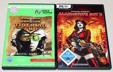 2 PC juegos bundle-Command & Conquer-Tiberian Sun & alerta roja 3
