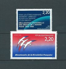 FRANCE - 1988-89 YT 2559 à 2560 - TIMBRES NEUFS** MNH LUXE