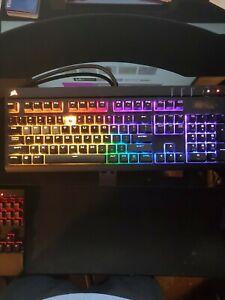 Corsair STRAFE RGP0018 Mechanical Gaming Keyboard Red Blue PC RGB LED