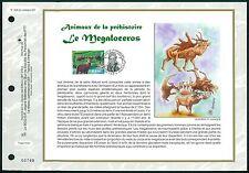 France ETB 2008 Préhistoriques Animaux MEGALOCEROS Prehistoric Animals z1999
