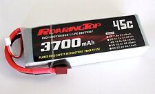 RoaringTop LiPo Battery Pack 45C 3700mAh 4S 14.8V with Deans Plug