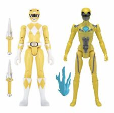 2016 Action Figure Power Rangers Then and Now Yellow Ranger 2 Pack