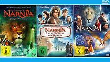 Chroniken von Narnia 1+2+3 [DVD] König, Prinz Kaspian, Reise auf der Morgenröte