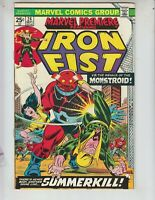 "Marvel Premiere 24 VF- (7.5) 9/74 Iron Fist ""Summerkill!"""