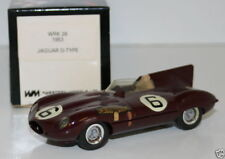 WESTERN MODELS 1/43 WRK28 - 1953 JAGUAR D TYPE - WMTC CLUB 1989 RUSSELL MARTIN