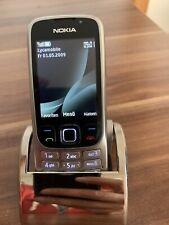 Nokia  Classic 6303i - Stahl (Ohne Simlock) Handy OVP Ohne Sim Lock