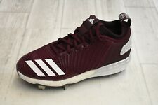 adidas Boost Icon 3 Baseball Cleats - Men's Size 6 - Maroon NEW!!