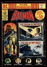 DC 100 Page Super Spectacular (1971) DC-20 1st Print Batman Black Canary VF/NM