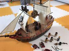 Playmobil Pirate Ship (5135) + Extras