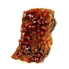 Vanadinite. 153.6 cts. Mibladen Mining District, Midelt, Maroc