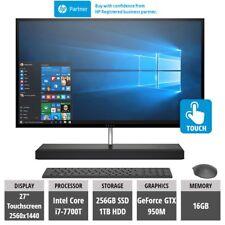 ALL IN ONE PC HP ENVY 27-b170nj i7-7700T 16GB 1TB +256GB SSD GTX 950M 4GB QuadHD