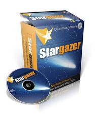 Stargazer Planetarium Program For Windows & Mac OS-X Supplied On DVD