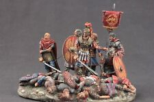 Tin toy soldiers ELITE painted 54 mm Romans after the battle