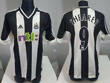 Newcastle United 2001 03 Home SHEARER football shirt soccer jersey Adidas L Men