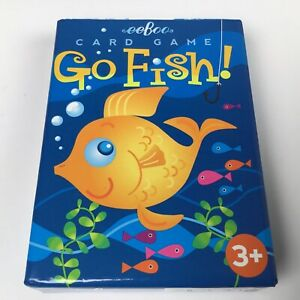 Eeboo Go Fish Card Game For Kids Ages 3 Plus - Sealed Brand New