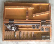 US Navy Pipe Threader Set w/ Box, Dies, & Accessories Armstrong Bridgeport Tool