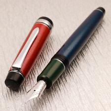 Pilot Custom HERITAGE 912 GMT Pepsi Urushi Art 14K Rhodium Nib Fountain Pen
