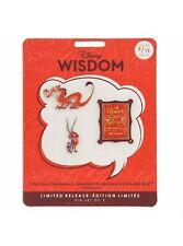 Disney Wisdom Pins Mushu Mulan February 2019 Limited Release 2/12 Brand New
