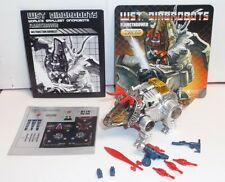 Transformers Justitoys WST Dinobot G1 FLAMETHROWER SLAG From Comic Book Giftset