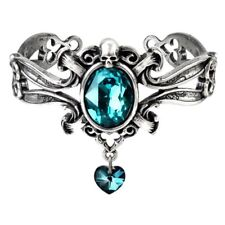 Stunning Alchemy Gothic ~ The Dogaressa's Last Love ~ Pewter Bracelet Bangle