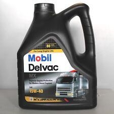 MOBIL DELVAC MX 15W40 DA 4 LITRI OLIO MOTORE DIESEL CAMION FURGONE TRATTORE
