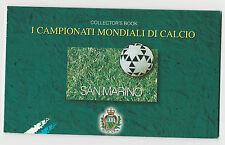 FRANCOBOLLI 1998 SAN MARINO LIBRETTO MONDIALI DI CALCIO D/365