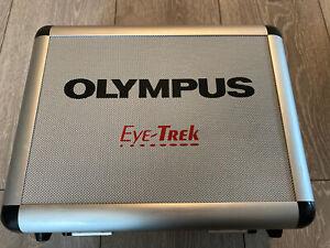 OLYMPUS EYE TREK Glasses Aluminium Flight Case Rare Collectors FMD 200 700 RETRO